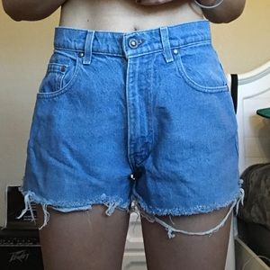 Vintage Levi's Strauss high waisted shorts